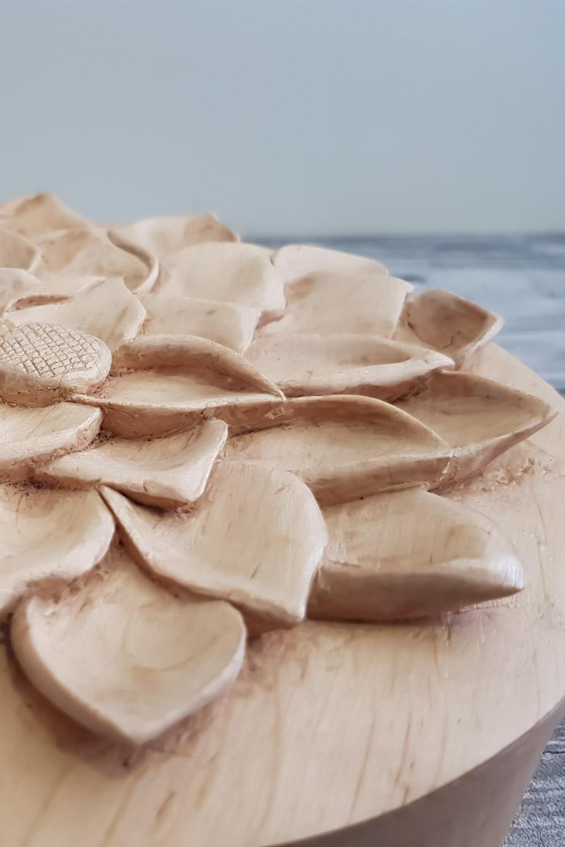 petalos-tallado-madera-flor-loto-caja-artesanía